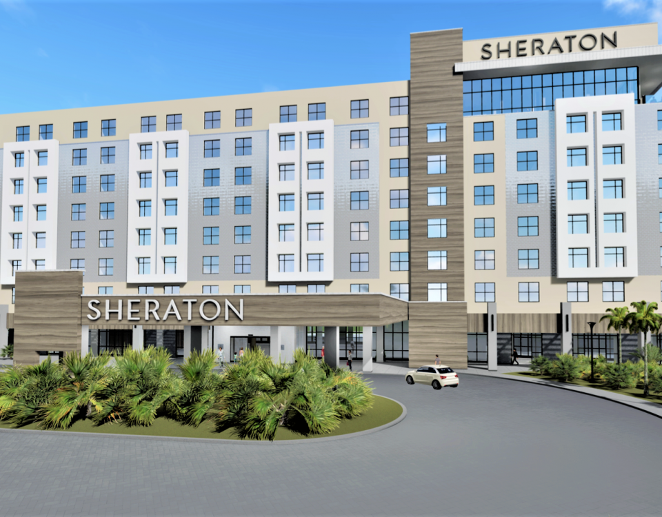 New Sheraton Hotel in Bradenton
